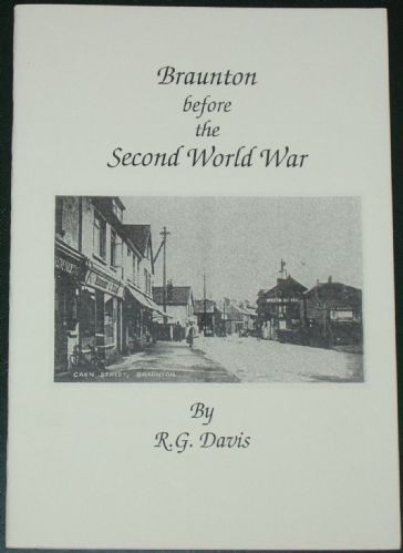 Braunton before the Second World War, by R.G. Davis